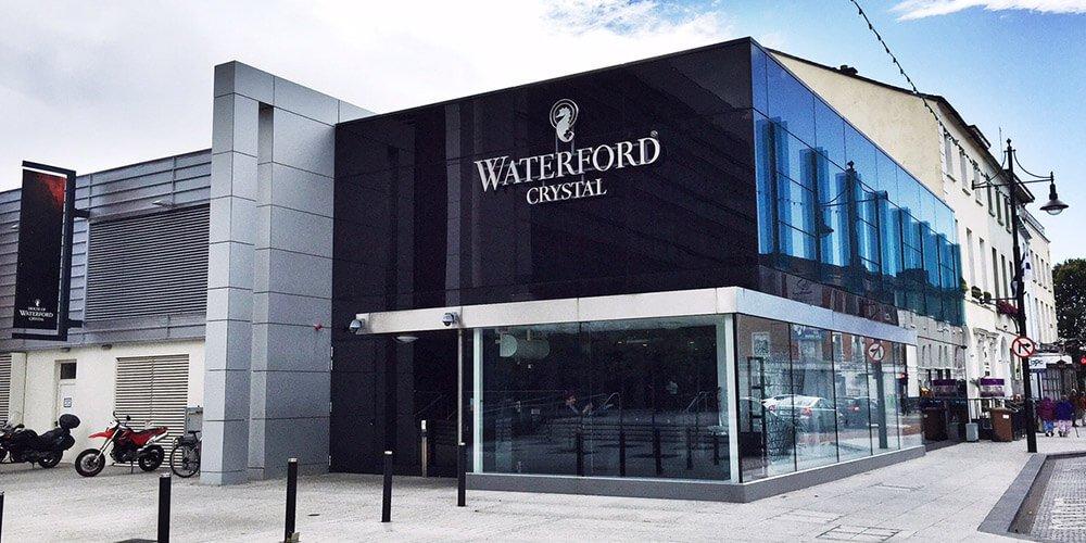Ireland petite greek for Waterford crystal swimming pool