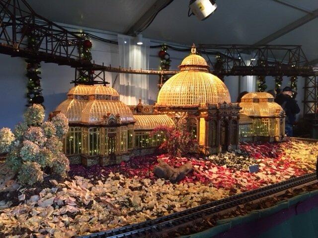 NY Botanical Gardens Holiday Train Show