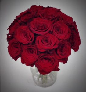 No other flowers say I Love You like these deep red, decadent Roses.