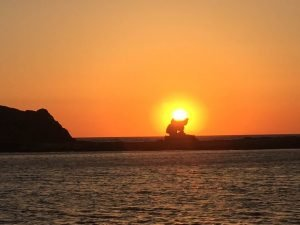 Incredible sunsets in Ios with Sunkissed cruises