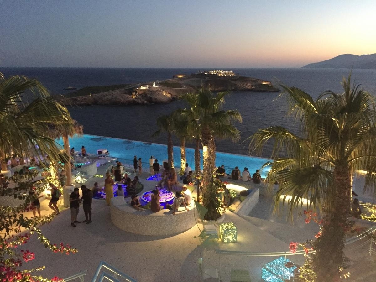pathos lounge bar stunning lighting. Pathos Lounge Bar Overview Of Part Ios Island Windmill. « \u2039 1 2 \u203a » Stunning Lighting O