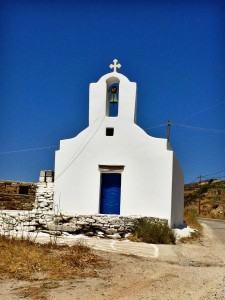 Beautiful church in Ios